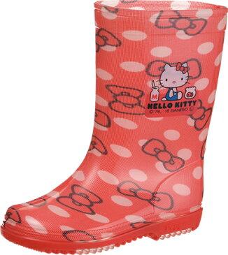 雨の日も安心!子供用長靴♪アサヒ サンリオキャラクターR283ハローキティ KL38401