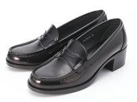【送料無料】スクール靴として絶大な人気の定番モデル!HARUTA/ハルタアービン4603ブラックヒールローファー
