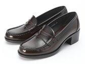 【送料無料】スクール靴として絶大な人気の定番モデル!HARUTA/ハルタ アービン 4603 ジャマイカ ヒール ローファー
