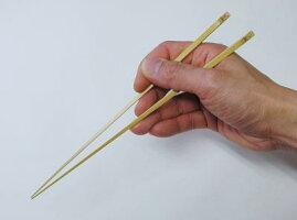 手削り白竹細箸[日本製竹箸]