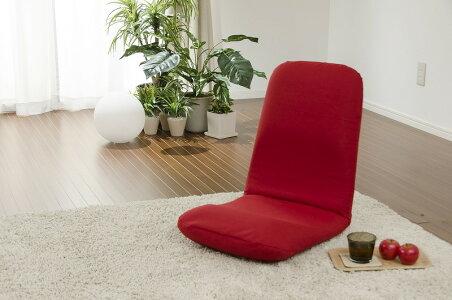 腰に優しい正しい姿勢の習慣用座椅子好評の和楽シリーズ日本製座椅子フロアチェアー「和楽チェアLサイズ」【送料無料】背筋がピント!座いすサムライブルー