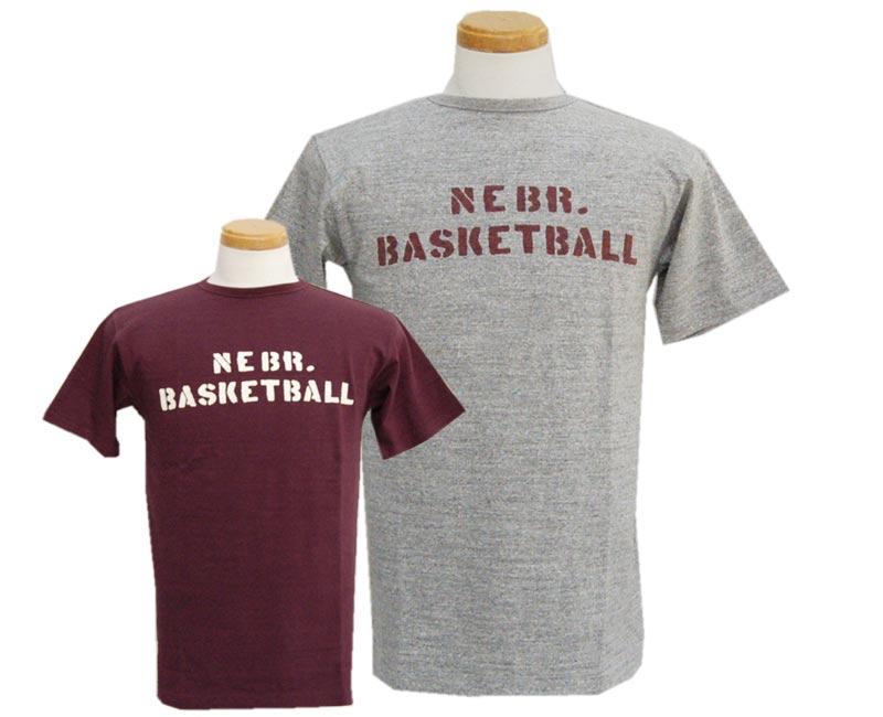 トップス, Tシャツ・カットソー HELLERS CAFE T- HC-M17 BASKETBALL