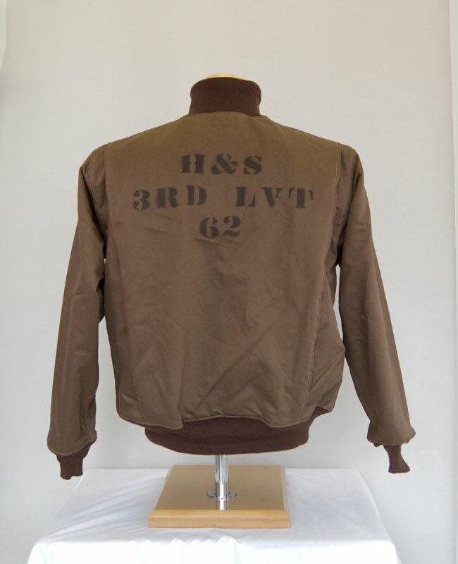 Buzz Rickson's(バズリクソンズ) フライトジャケット TANK H&S 3RD LVT 62