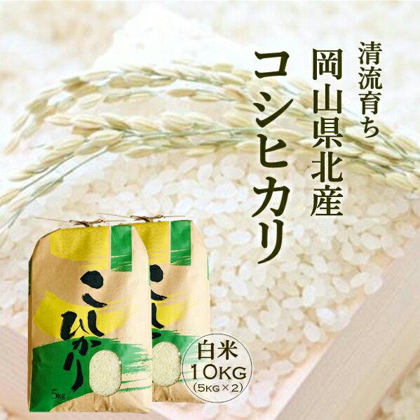 米10kg 送料無料 コシヒカリ 白米10kg 岡山県産 令和2年産...