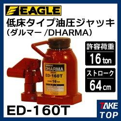 今野製作所 油圧ジャッキ 低床タイプ 16ton ED-160T ダルマー/DHARMA