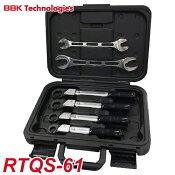 BBKトルクレンチRTQレンチ4本+フィックスレンチ2本セット(ケース付)RTQS-61ナットサイズ:1/4、3/8、1/2、5/8