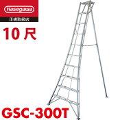 長谷川工業ハセガワ三脚GSC-300T天板高さ:3.01m最大使用質量:100kg