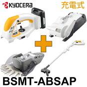リョービ充電式DX芝生メンテナンス4点セットBSMT-ABSAPスーパーマルチツールBSMT-1800/AB01/SA01/6078287