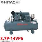 日立産機システム 中圧ベビコン 圧力開閉器式 3.7P-14VP6 3.7kW 三相200・220V 60Hz