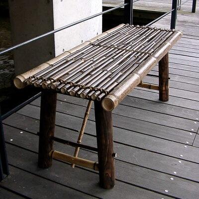 虎竹縁台(折り畳み式)小