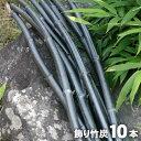 【日本唯一の虎斑竹100年計画】竹資源を無駄なく有効活用したいという思いから生まれました。オブジェとして生まれかわった飾り竹炭(丸竹)10本