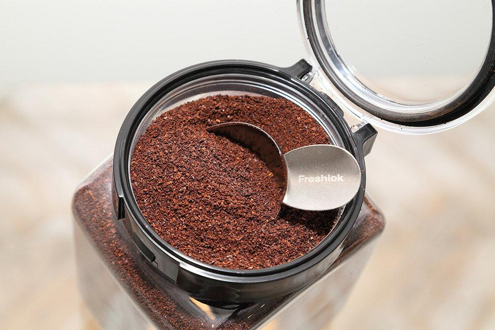 タケヤフレッシュロックコーヒー【保存容器コーヒー用ステンレス製軽量スプーン付】