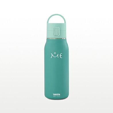 TAKEYAミーボトルループャップ800ml【水筒ステンレスボトル真空断熱直飲み保冷専用ロック式ワンプッシュフタ便利なハンドルフタ仕様0.8L】