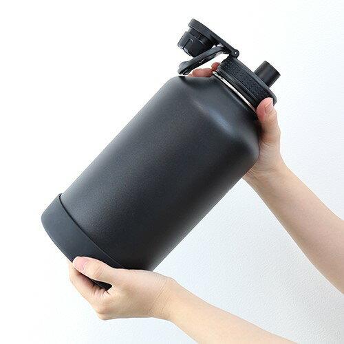 TAKEYA【メーカー公式】タケヤフラスクアクティブライン1900ml【1.9Lタケヤ水筒ステンレスボトル真空断熱直飲み保冷専用バンパー標準装備持ちやすくなったキャリーハンドル仕様64oz】