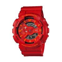 【送料無料!】カシオGA-110AC-4AJFメンズ腕時計Gショックブルー&レッドシリーズ【CASIOGA110AC4AJFG-SHOCKBlueandRedSeries】【smtb-F】