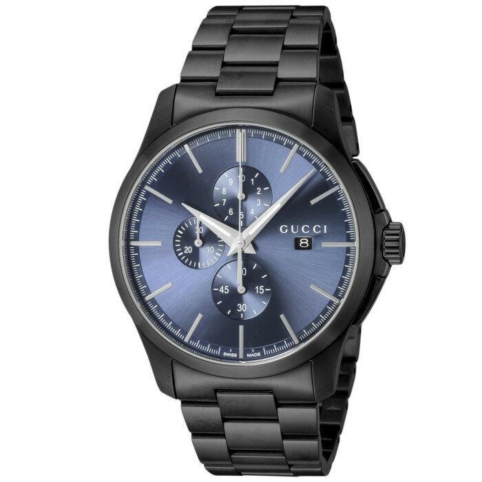 【!】グッチ YA126275 メンズ腕時計 Gタイムレス