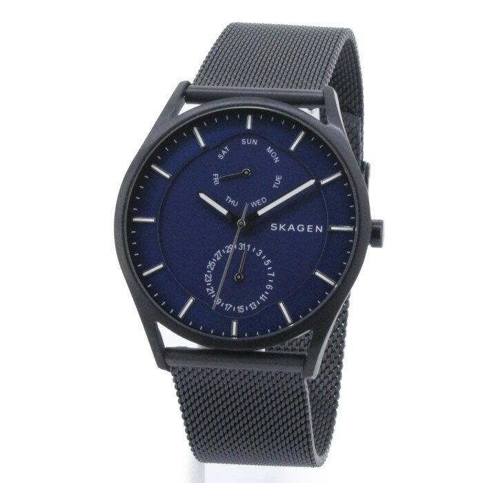 【!】スカーゲン SKW6450 メンズ腕時計 ホルスト|SKAGEN HOLST 男性 ブラック ブルー おしゃれ プレゼント ギフト