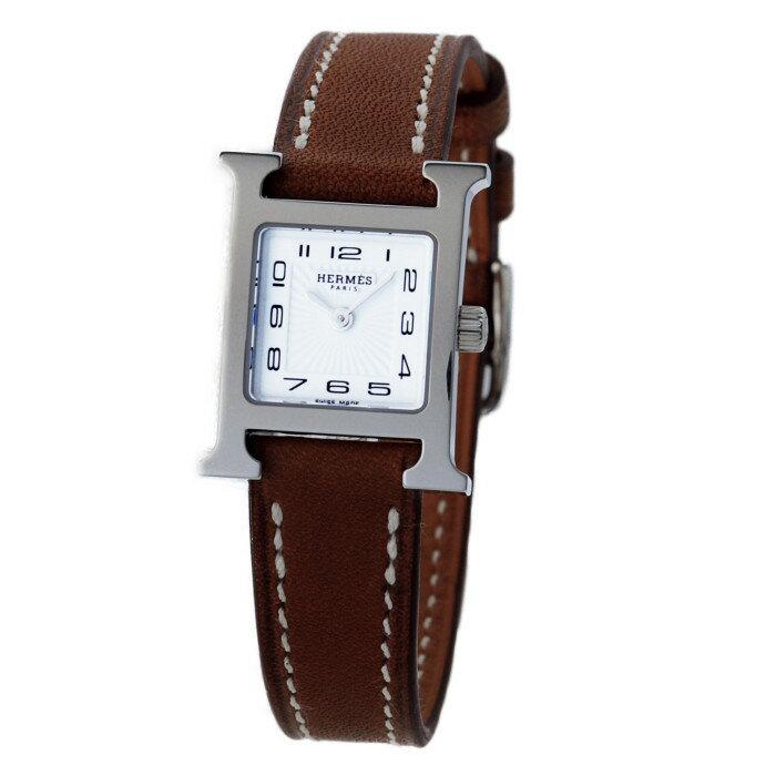 【!】エルメス 037961WW00 レディース腕時計 エイチウォッチ HERMES 女性 人気 おしゃれ Hウオッチ かわいい 革 華やか