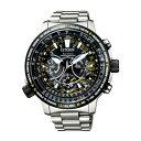 【送料無料!】シチズン CC7014-82E メンズ腕時計 プロマスター CITIZEN PROMASTER 男性 人気 プレゼント ギフト エコドライブ GPS 衛星 電波 F990 SKYシリーズ ブラック シルバー