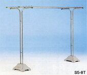 モリステンレス物干し台S5−8TPPベース付