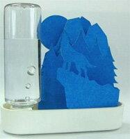 セキスイ 自然気化式ECO加湿器うるおい ちいさな森 ブルー オオカミ ULT-OK-BL