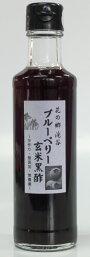 手作り無添加ブルーべリー玄米黒酢200