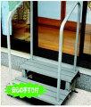 手すり付きアルミ製踏み台(段差ステップ)