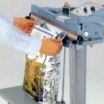 米袋用シーラーFR-450-2 足踏み式シーラー【smtb-ms】[シール専用 足踏 作業台]