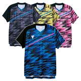 卓球 ユニフォーム ビクタス メンズ レディース 半袖 ゲームシャツ V-GS902 トップス 男性 女性 男女兼用 吸汗速乾 aog0119