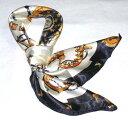 【全色60種】 華麗な高級シルク調スカーフ 90角正方形大判レディース スカーフ 贈り物 ギフト人気な花柄 スカーフ(NO.11?NO.20)