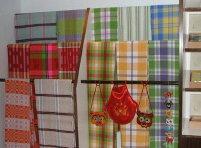 肌に優しい!完全手織シーツ・中国西部民芸品手織物シーツ(布芸土布)
