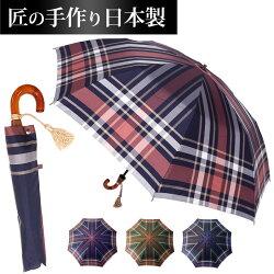 長く使える日本製手作り折りたたみ高級傘
