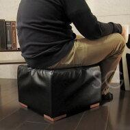 オットマン・足置き・フットレスト・簡易椅子として使えるスツール