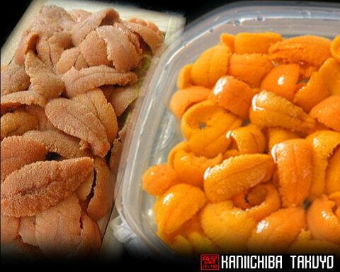 蝦夷バフンウニ・食べ比べセット★バラ盛り&塩水詰め・剥きたてをお届けします【楽ギフ_のし】【うに丼】【お買い得】