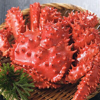 花咲蟹 2尾で1kg前後・ショックフリーザー冷凍品