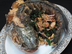 【タイ食材専門店】Snake Head Fish/Mad Fish冷凍スネークヘッドフィッシュ(マッドフィッシュ...