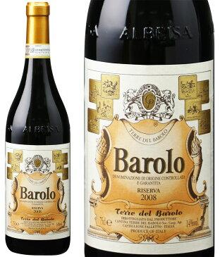 バローロ リセルヴァ [2008] テッレ・デル・バローロ <赤> <ワイン/イタリア>【■I391】 ※即刻お取り寄せ品!ヴィンテージ変更と欠品の際はご連絡します!