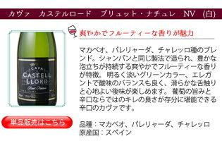 【送料無料】ワインセットカヴァ6本セットスパークリングワイン辛口シャンパン製法瓶内二次発酵カヴァだけ家飲み御祝誕生日母の日ギフトパーティー第32弾5本からリニューアルしました