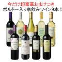 【送料無料】ワインセット 家飲み ワイン 9本 セット ボルドー入 赤ワイン 白ワイン デイリーワイン 飲み比べ パーティー おうちで満喫 ハロウィン 第75弾