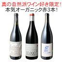 【送料無料】ワインセット 真の自然派ワイン好き限定 本気 オーガニック 赤ワイン 3本 セット ガチオーガニック