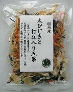 太ひじきと打ち豆入り五菜28g
