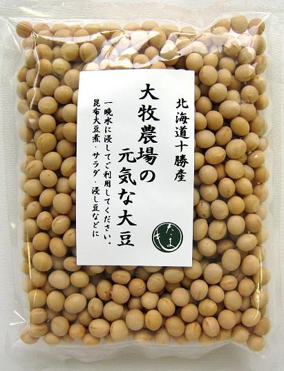 大牧農場の元気な大豆250g×10