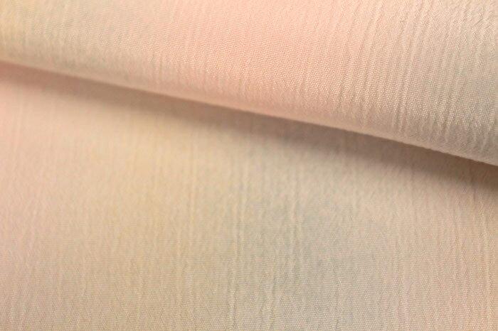 東レ 洗える長襦袢 反物 たてぼかし ピンク ミックスぼかし 揚柳 ポリエステル 無双 単衣