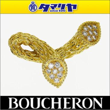 BOUCHERON ブシュロン ダイヤ セルパンボエム トワエモア ブローチ 750 K18 YG イエローゴールド【送料無料】【代引き手数料無料】【中古】30030119