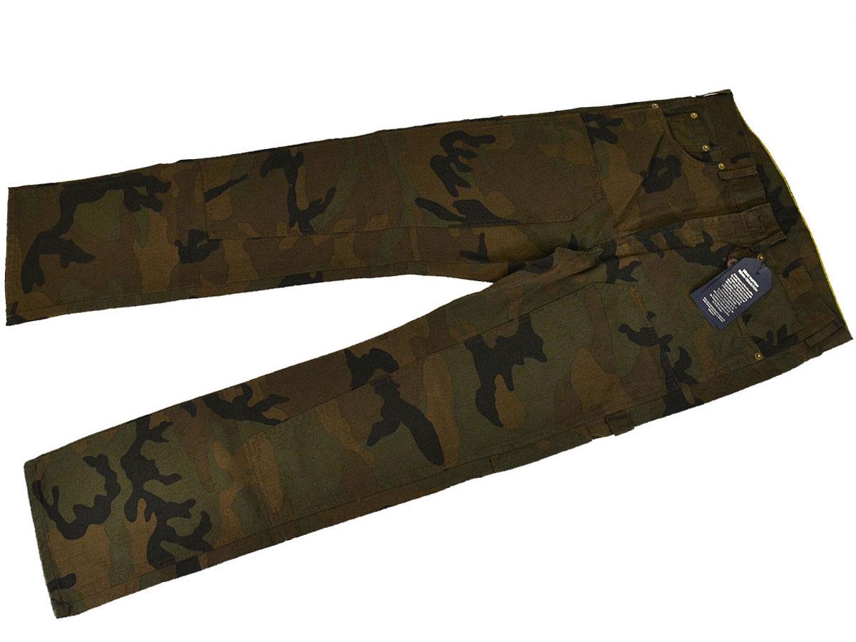 メンズファッション, ズボン・パンツ Louis Vuitton Supreme CAMO DUNGAREE PANTS SP 1A3FKP 30 Made In France 29660918