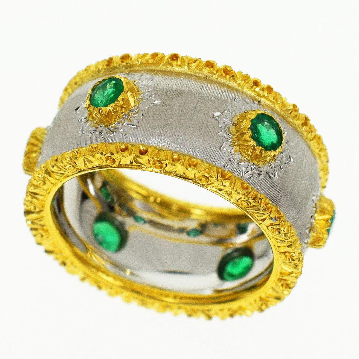 レディースジュエリー・アクセサリー, 指輪・リング GIANMARIA BUCCELLATI 18K 750 YG WG 9 4931881211