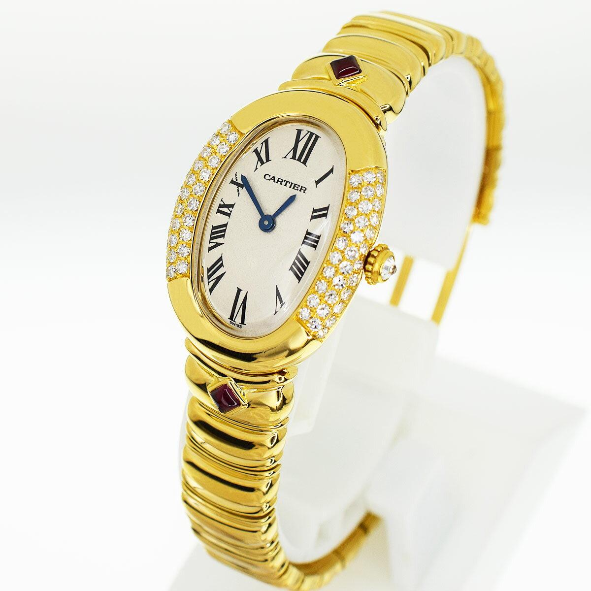 腕時計, レディース腕時計 Cartier SM 15cm 750 K18 YG SWISS MADE 31921205