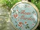 """雑貨屋さんみたいなディスプレイをしたくなる!ガーデンストーン""""Garden stone rose 〜ローズ"""""""