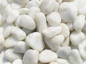 カラフルな玉砂利で明るくなります10kg/白玉砂利【リバーロック】ホワイト10kg入り【砂利】【白...