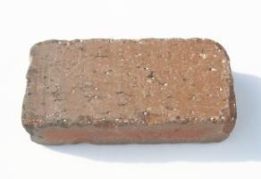 2.5kg/アンティーク調レンガ ブラウンBRサイズ210×100×60mm/200×100×60mm[煉瓦 れんが ブロック 花壇 タイル 門柱 駐車場 庭 アプローチ]